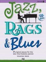 JAZZ RAGS & BLUES BK 4 GRADE 4 BK & CD