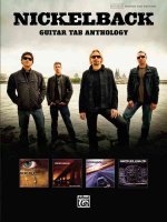 NICKELBACK GUITAR TAB ANTHOLOGY GTAB