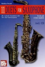 11 DUETS FOR SAXOPHONE BOOKCD SET