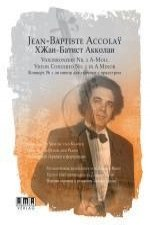 JEANBAPTISTE ACCOLAY VIOLIN CONCERTO NO1