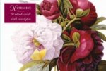 Card Box of 20 Notecards and Envelopes: Redoute Peony