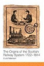 Origins of the Scottish Railway System 1722-1844