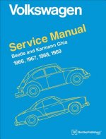 Volkswagen Beetle and Karmann Ghia Official Service Manual 1966-1969