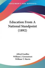 Education From A National Standpoint (1892)