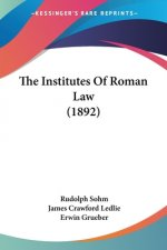 Institutes Of Roman Law