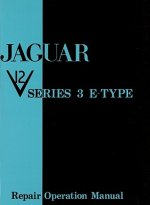 Jaguar E Type V12 Series 3 Workshop Manual