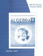 Aim for Success Practice Sheet for Aufmann/Lockwood's Prealgebra and Introductory Algebra: An Applied Approach, 3rd