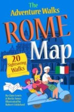 Adventure Walks Rome Map