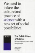 Public Value of Science