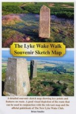Lyke Wake Walk Souvenir Sketch Map