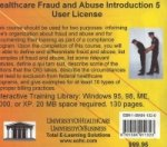 Healthcare Fraud and Abuse Introduction, 5 Users