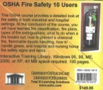 OSHA Fire Safety, 10 Users