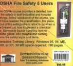 OSHA Fire Safety, 5 Users