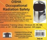 OSHA Occupational Radiation Safety