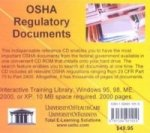 OSHA Regulatory Documents