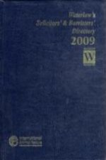 Waterlow's Solicitors' and Barristers' Directory 2009