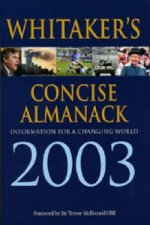 WHITAKERS ALMANACK 2003 CONCISE ED