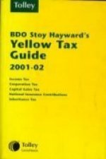 Bdo Stoy Hayward's Yellow Tax Guide 2001-02