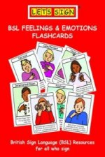 Let's Sign BSL Feelings & Emotions Flashcards