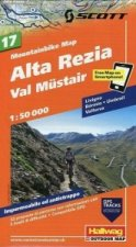 Alta Rezia Val Mustair Bike Map