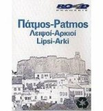 Patmos/Lipsi/Arki Pocket Map