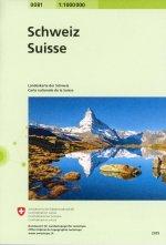 Switserland National Map