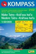 Nízké Tatry-Kráĺova hoĺa 2102 NKOM 1:50T