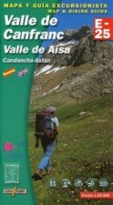 Valle De Canfranc Map and Hiking Guide