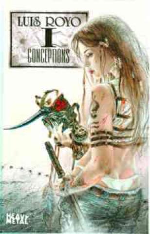 Luis Royo Conceptions Volume 1
