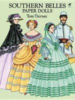 Southern Belles Paper Dolls in Full Colour