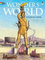 Wonders of the World Coloring Book