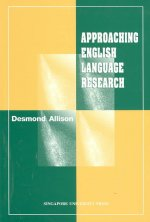 Approaching English Langage Research