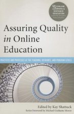 Assuring Quality in Online Education