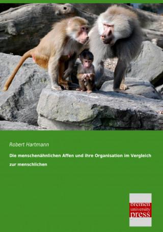 Die menschenähnlichen Affen und ihre Organisation im Vergleich zur menschlichen