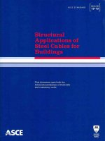 Structural Applications of Steel Cables for Buildings (ASCE/Sei 19-10)