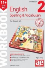 11+ Spelling and Vocabulary Workbook 2