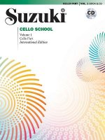 Suzuki Cello School, Cello Part & CD, Volume 1 (Revised), m. 1 Audio-CD. Vol.1