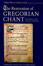 Restoration of Gregorian Chant