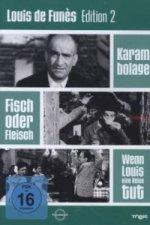 Louis de Funes Edition. Tl.2, 3 DVD