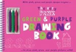 Very Pink, Green and Purple Drawing Book