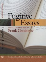 Fugitive Essays