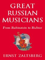 Great Russian Musicians