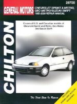 General Motors Chevrolet Sprint and Metro, Geo Metro/Suzuki Swift Repair Manual