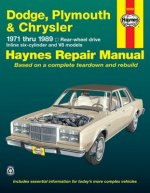 Dodge Plymouth Chrysler RWD (1971-1989) Automotive Repair Manual