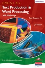 Heinemann Text Production & Word Processing Levels 1 & 2 Tutor Resource File