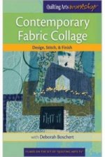 Contemporary Fabric Collage Design Stitch & Finish