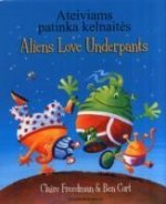 Aliens Love Underpants in Lithuanian & English
