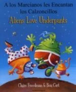 Aliens Love Underpants in Spanish & English