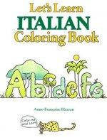 Lets Learn Italian Coloring Book