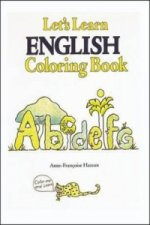 Let's Learn English Coloring Book